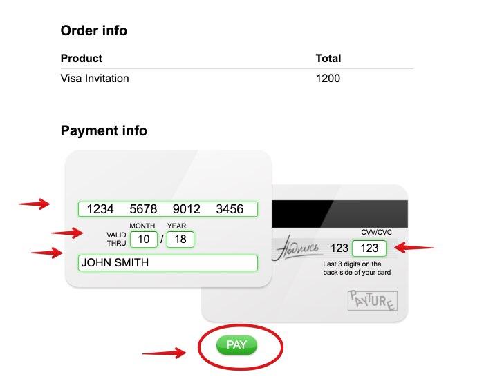Visa Order Russian Business Visa 88