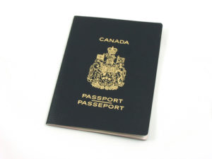 Canadian Passport - Chinese Visa