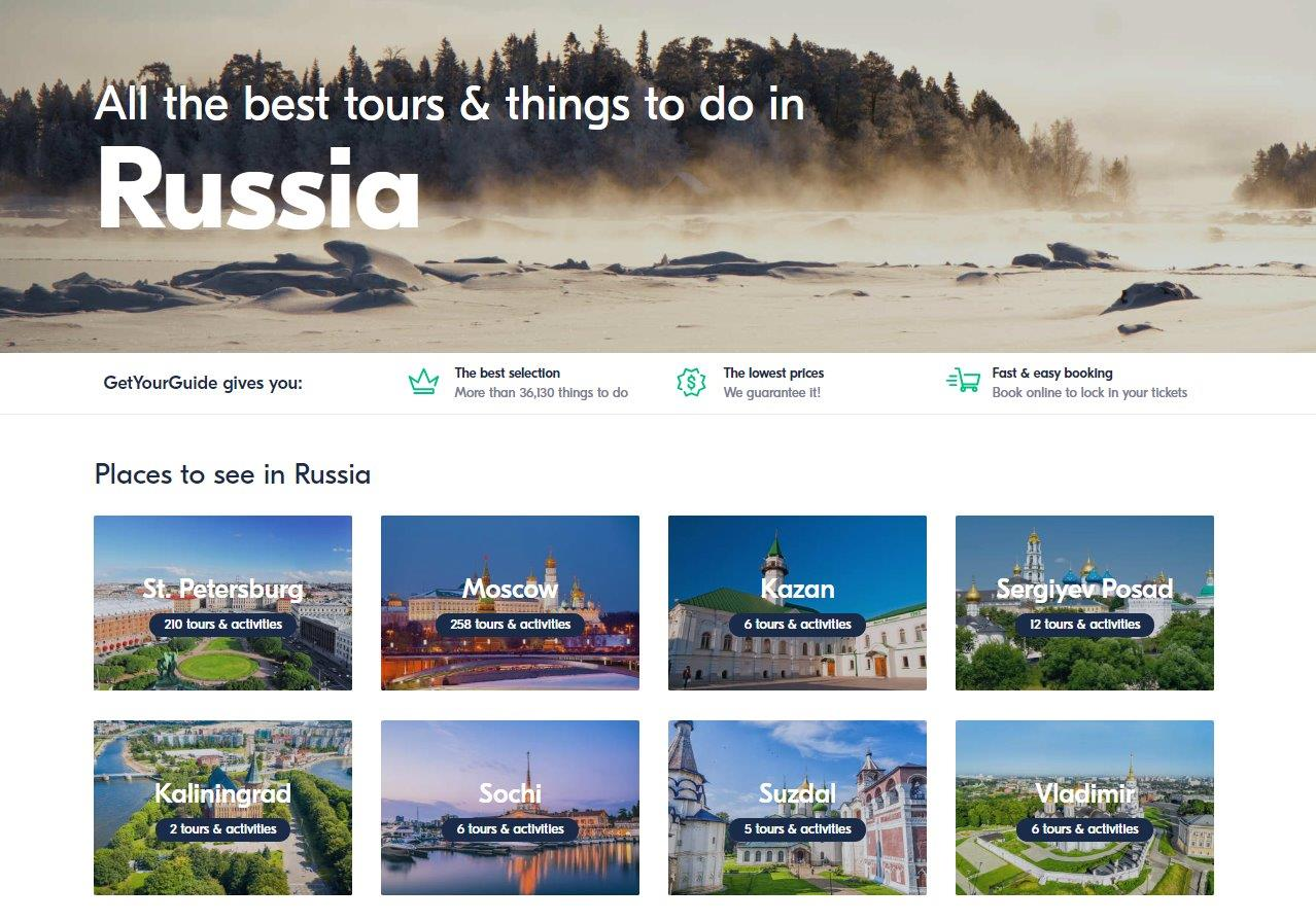 Activities and tours in Russia - GetYourGuide